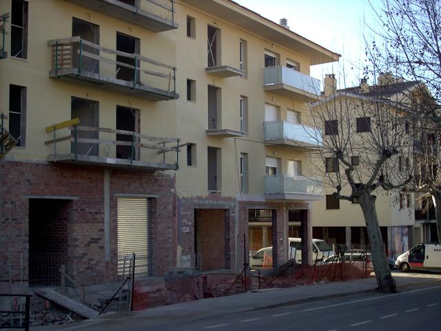 15 de febrer de 2007. La fesomia del lloc ja és un altre. (Foto: Carles X. C