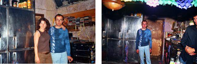 (Fotos: Esquerra: Mercè Butet. Dreta: Miquel Butet)