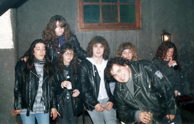 Finals dels 80 o inicis dels 90. (Foto: Mario Butet)