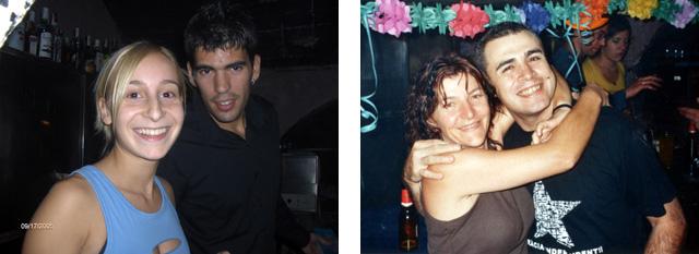 (Foto esquerra: Miquel Butet. Foto dreta: Mercè Butet)