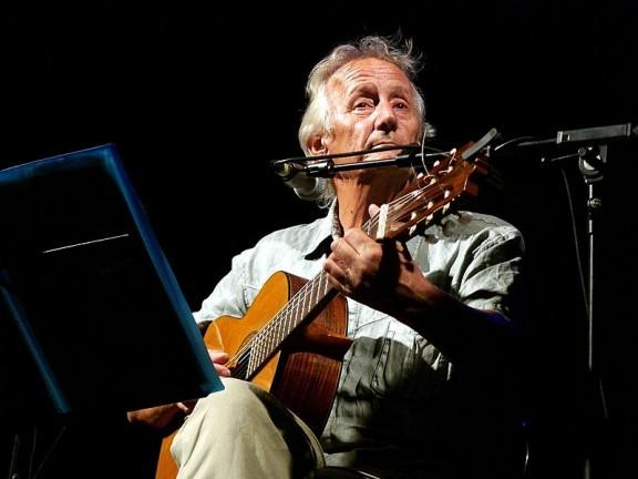 Jaume Arnella en una edició del festival ÉsDansa a les Preses (Garrotxa). Foto: Viquipèdia.
