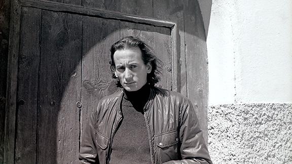 Jaume Arnella, en una imatge dels anys en que vivia a Cornudella de Montsant. Foto: Jaume Arnella.
