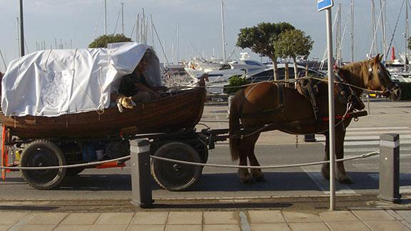 Tot preparat per sortir des del port de Cambrils. Foto: Amador González.