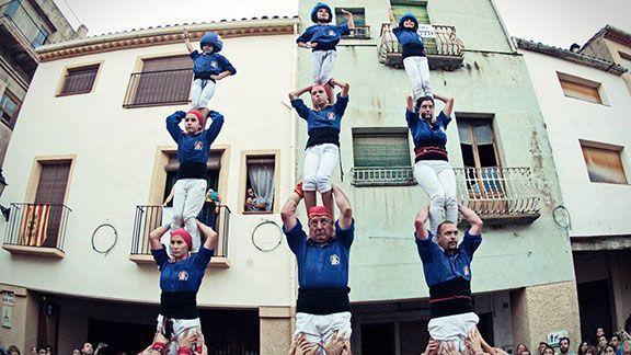 Pilars de comiat dels Brivalls. Foto: Jean Segovia Menor / Facebook.