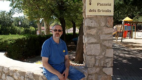 A l'entrada del Parc Vell, rebatejat com Avinguda dels Brivalls. Foto: Carles X. Cabós.