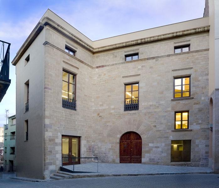 La Casa Gran de Falset, actual seu del Consell Comarcal del Priorat. Foto: http://www.priorat.cat