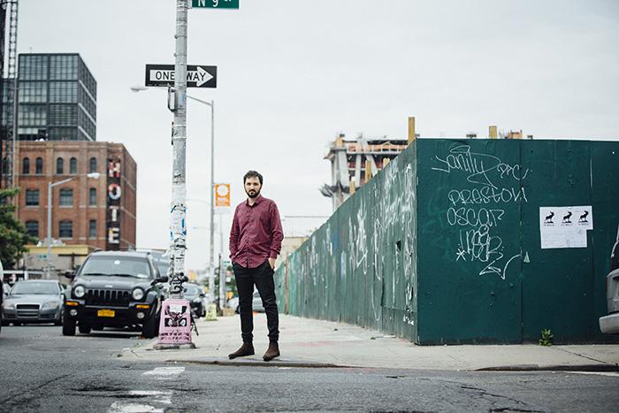 Lluís Capdevila a Nova York. Foto: lluiscapdevila.com