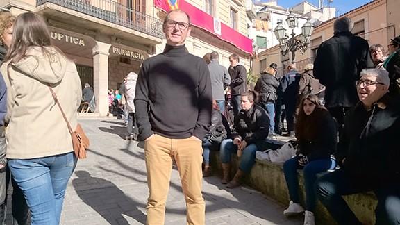A la plaça de la Quartera. Foto: Carles X. Cabós.