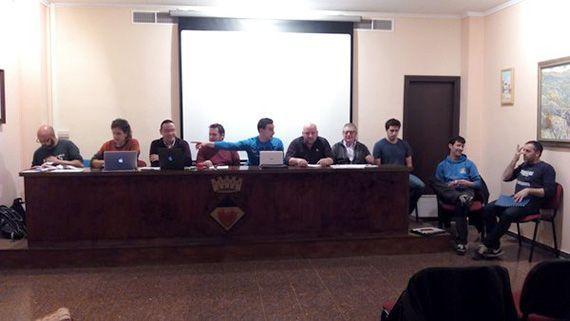 L'assemblea es va celebrar el passat divendres 6 de febrer a la Sala d'Actes de l'Ajuntament de Cornudella de Montsant. Foto: Marta Aragonès.