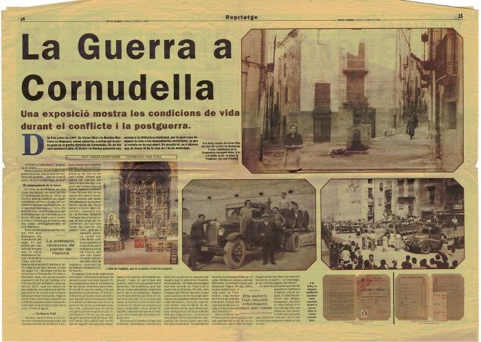 Pàgines centrals Diari de Tarragona 6 abril 1998.