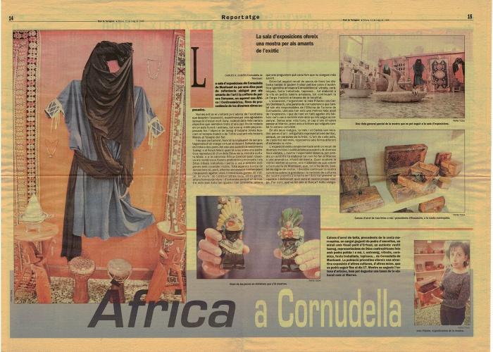 Pàgines centrals Diari de Tarragona 11 maig 1998 (cliqueu damunt la imatge per ampliar-la).