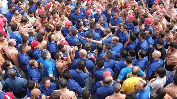 Diada de Festa Major de Cornudella, any 2014. Foto: Elisabet Josa