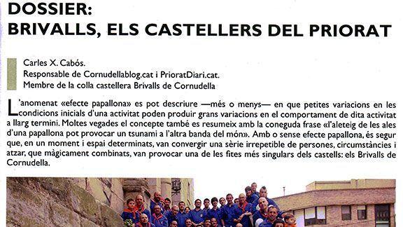 Primera pàgina del reportatge a Canya i Gram