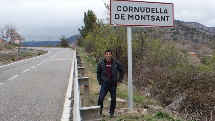 Pep Farré viu a Cornudella des de l'any 2007. Foto: Carles X. Cabós.