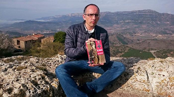 Toni Orensanz a Siurana, el 28 de gener de 2016. Foto: Carles X. Cabós