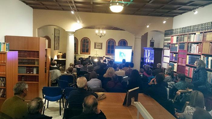 La Biblioteca Municipal, el dia de la presentació. Foto: Elisabet Josa.