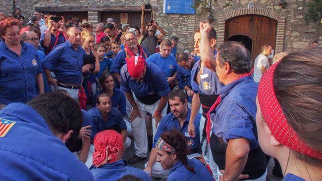 Els Brivalls de Cornudella van fer una bona actuació a Poboleda. Foto: Helena Miró