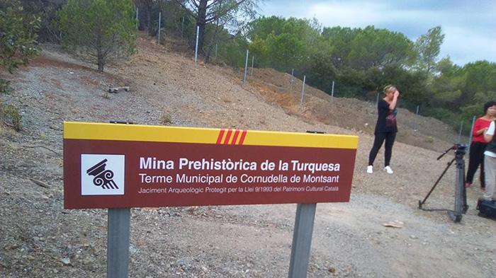 Mina del Mas de les Moreres o de la Turquesa